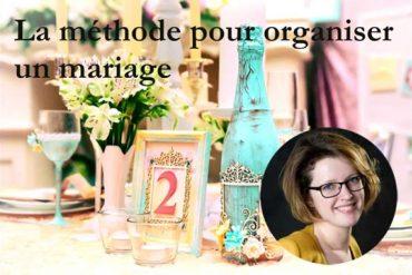 Comment organiser un mariage: la méthode