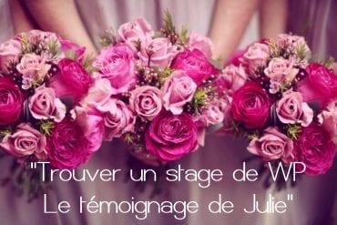 Les clés pour trouver un stage de wedding-planner